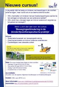 Flyer_Nieuwe cursus Bewegingsstimulering_najaar2016