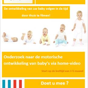 Baby's gezocht 0-3 maanden: de ontwikkeling volgen in de tijd!