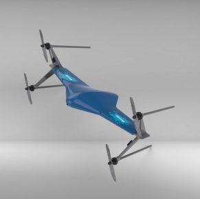 Student zorgt dat drone veilig landt