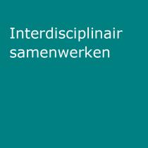 Interdisciplinair samenwerken