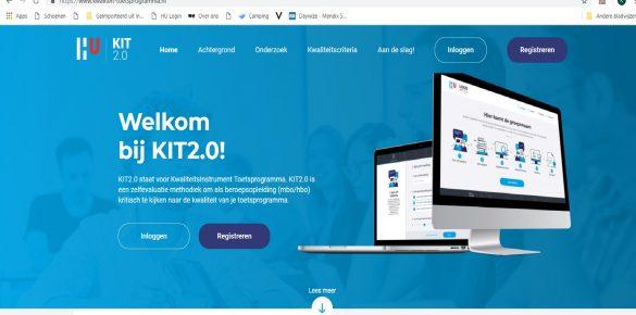 Verbeter samen het toetsprogramma: KIT 2.0!